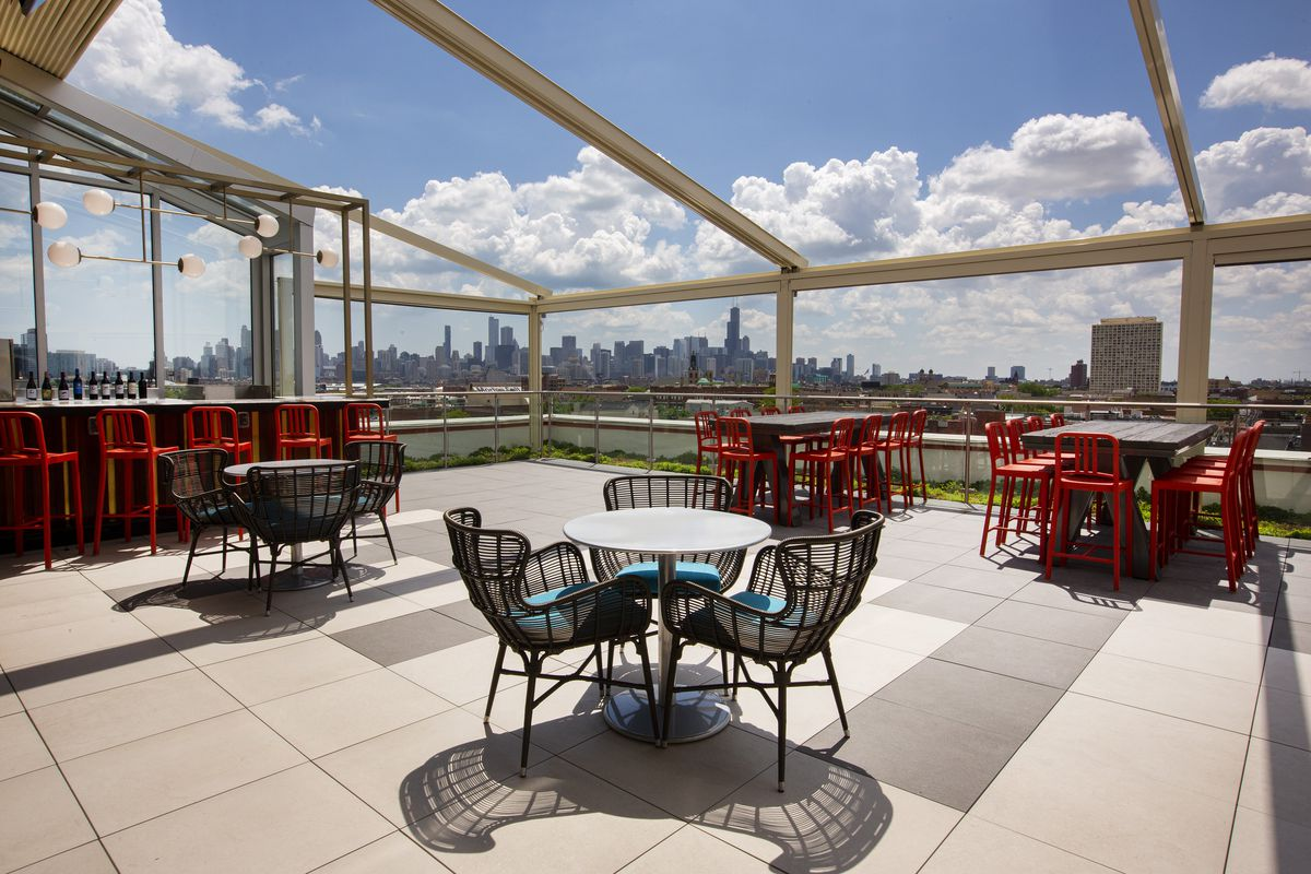 The Kennedy the new Wicker Park rooftop bar, is open ...