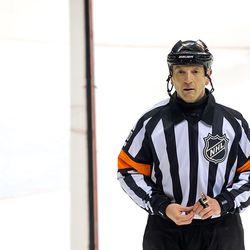 NHL Referee Tim Peel