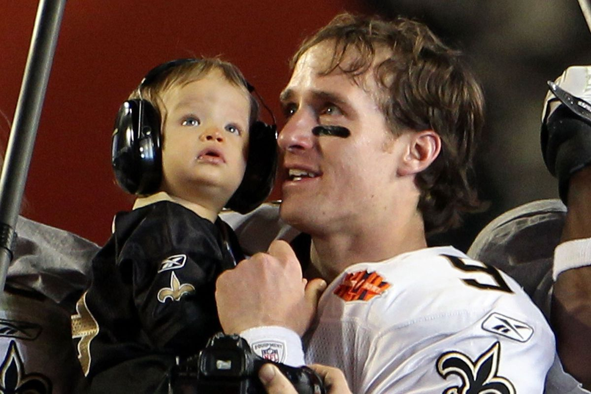 Yes, Purdue has a game scheduled far out enough that Baylen Brees could be the starting quarterback for it.