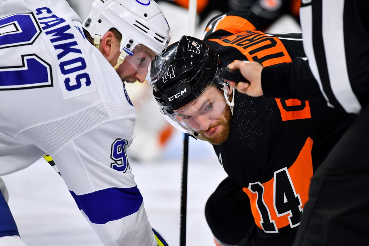 NHL: JAN 11 Lightning at Flyers