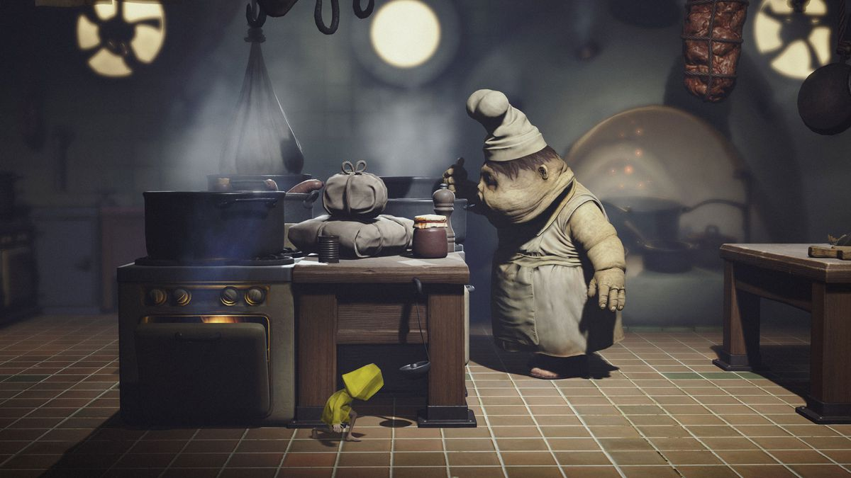 Little Nightmares - chef in kitchen