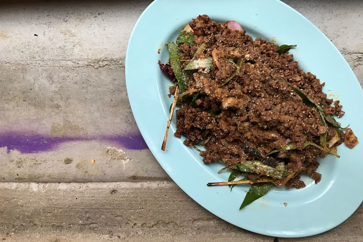 London's best restaurant pop-ups: Larb at Smoking Goat for offal monday with Black Axe Mangal
