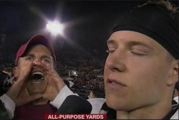 stanford yelling guy