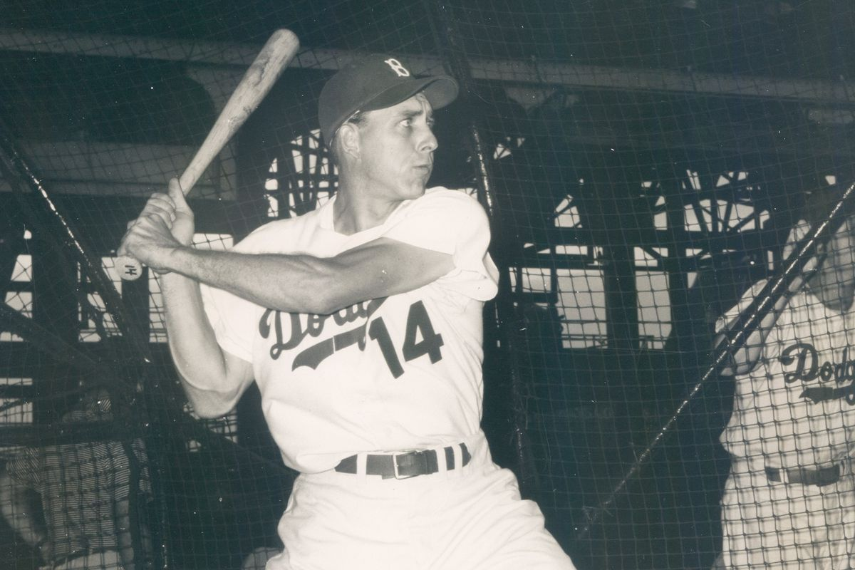 Gil Hodges hit 361 home runs for the Dodgers and drove in 100 runs in seven straight seasons (1949-55).