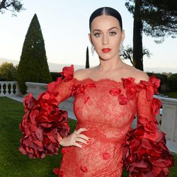 Katy Perry in Marchesa fall 2016