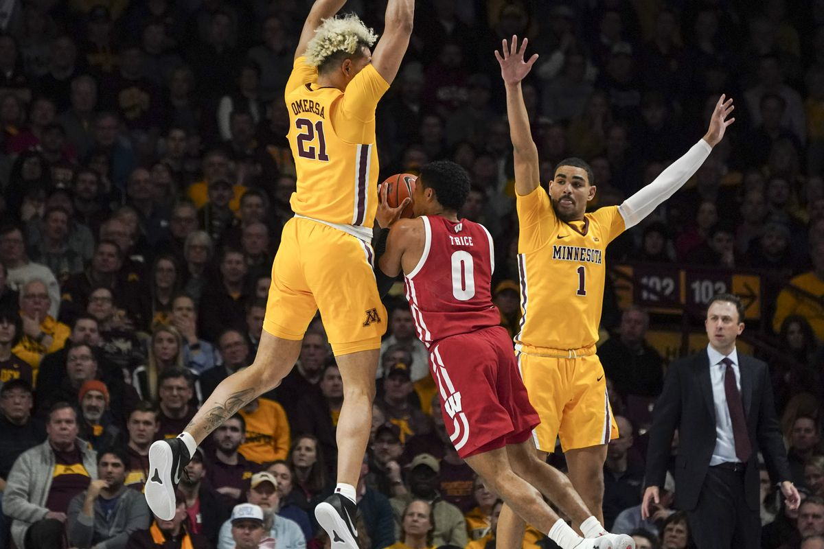 Minnesota Gophers win over the Wisconsin Badgers at home.