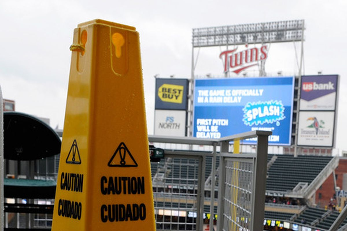 Caution: You're about to watch the Twins and Rangers play baseball