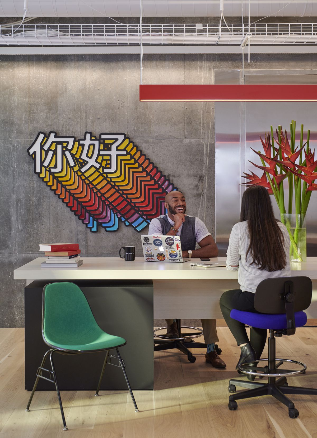 WeWork, home to freelancers and startups, is taking