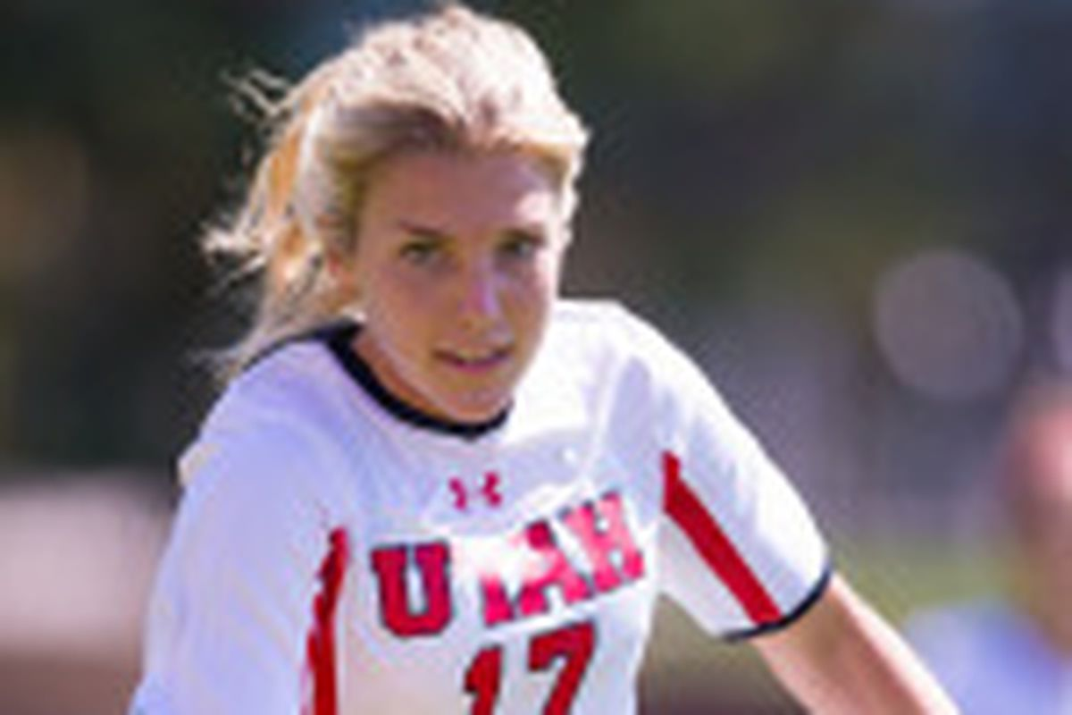 Utah defender Audrey Gibb and her Utes soccer team travel to Cal to take on the Golden Bears today at 3 p.m. MT on Pac-12 Networks.