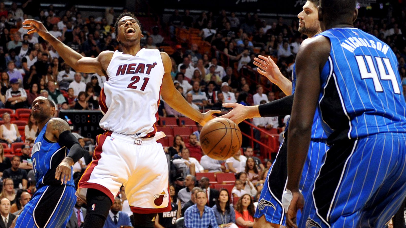 Five Stars: Heat 118, Magic 96 - Hot Hot Hoops