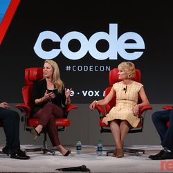 """Kathryn Haun, a Stanford lecturer on the board of Coinbase; Bridget van Kralingen, who leads blockchain efforts at IBM; and Brad Garlinghouse, the CEO of Ripple joined Peter Kafka on stage for a panel on blockchain technology. Watch their full conversation <a href=""""https://www.recode.net/2018/5/30/17386068/brad-garlinghouse-ripple-bridget-van-kralingen-ibm-kathryn-haun-stanford-cryptocurrency-interview"""">here</a>."""