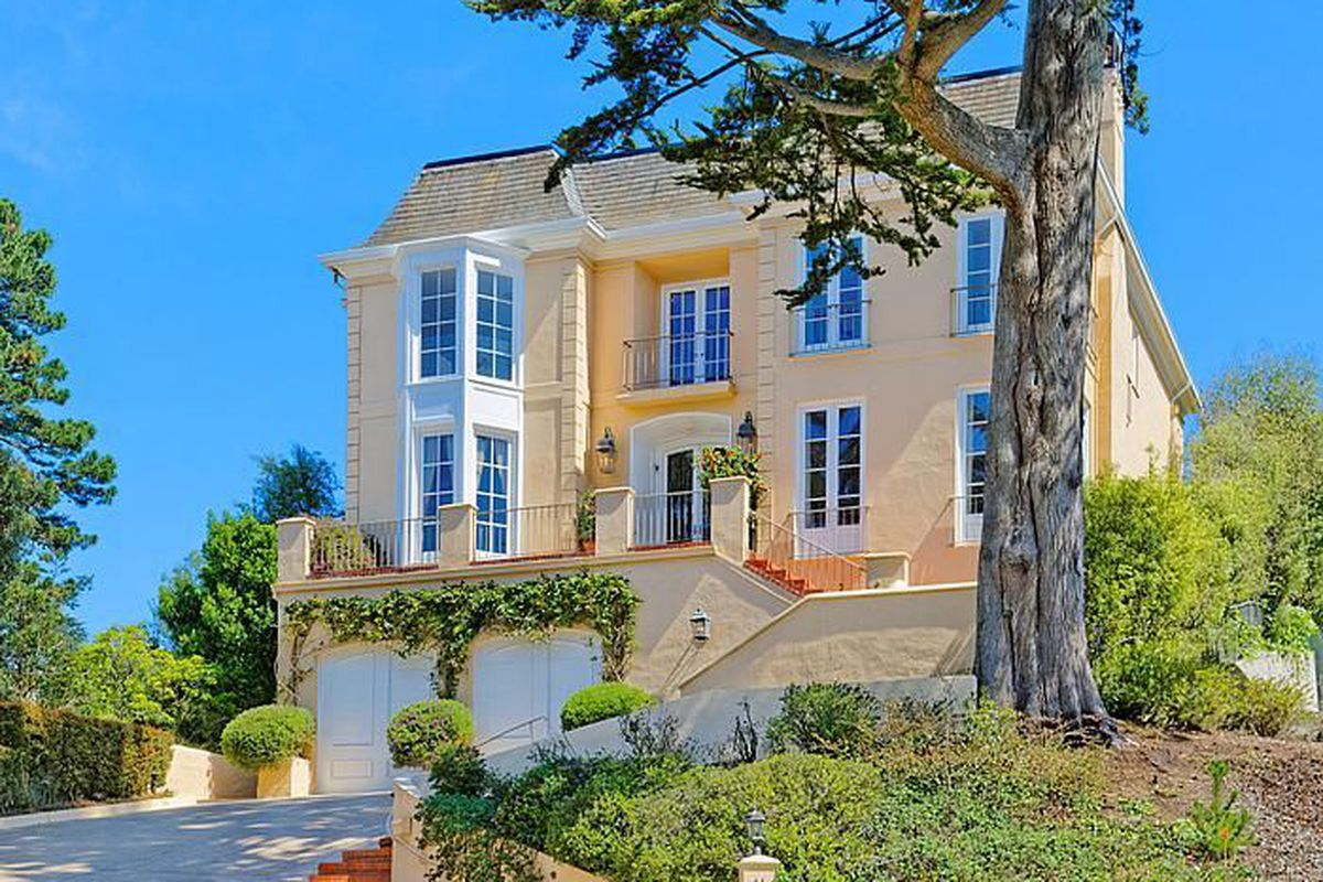 St Francis Wood Home With Big Backyard Pool Wants 625m Curbed Sf