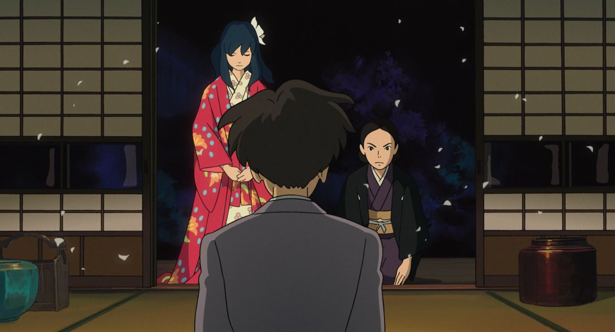 the wedding in the wind rises