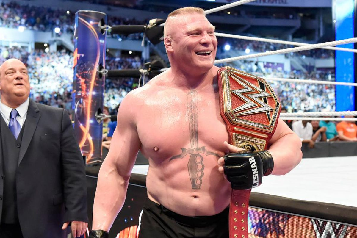 WWE Superstar Brock Lesnar