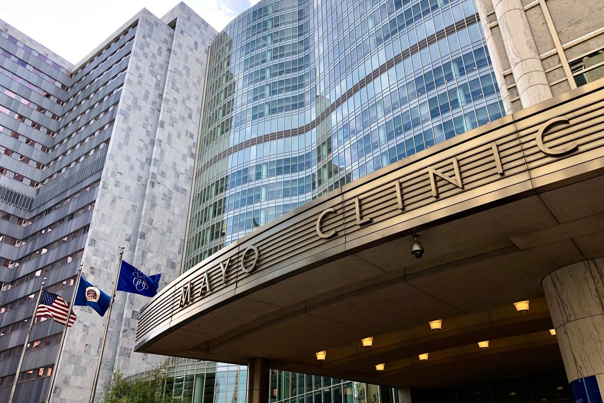 The Mayo Clinic in Rochester, Minnesota.