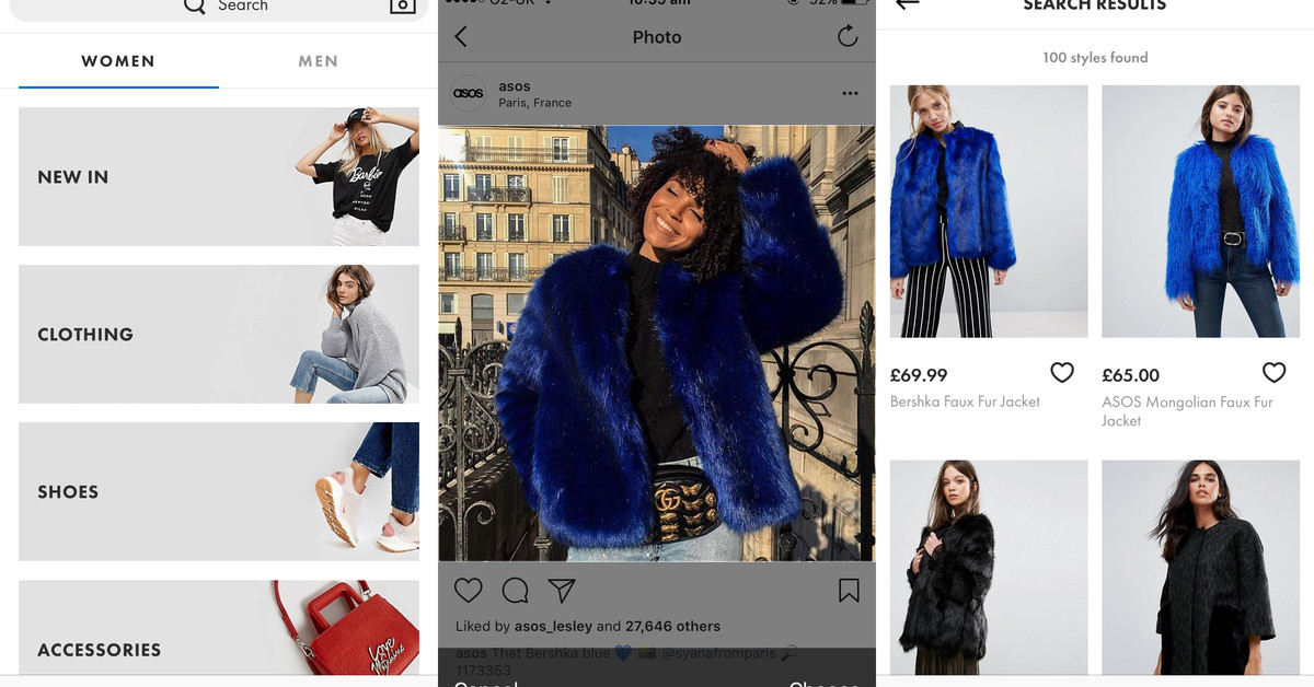 Asos' Style Match is like a reverse image search for shoppable clothes - The Vergeclockmenumore-arrownoyesVerge3.0_Logomark_Color_1