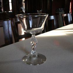 Still more glassware.