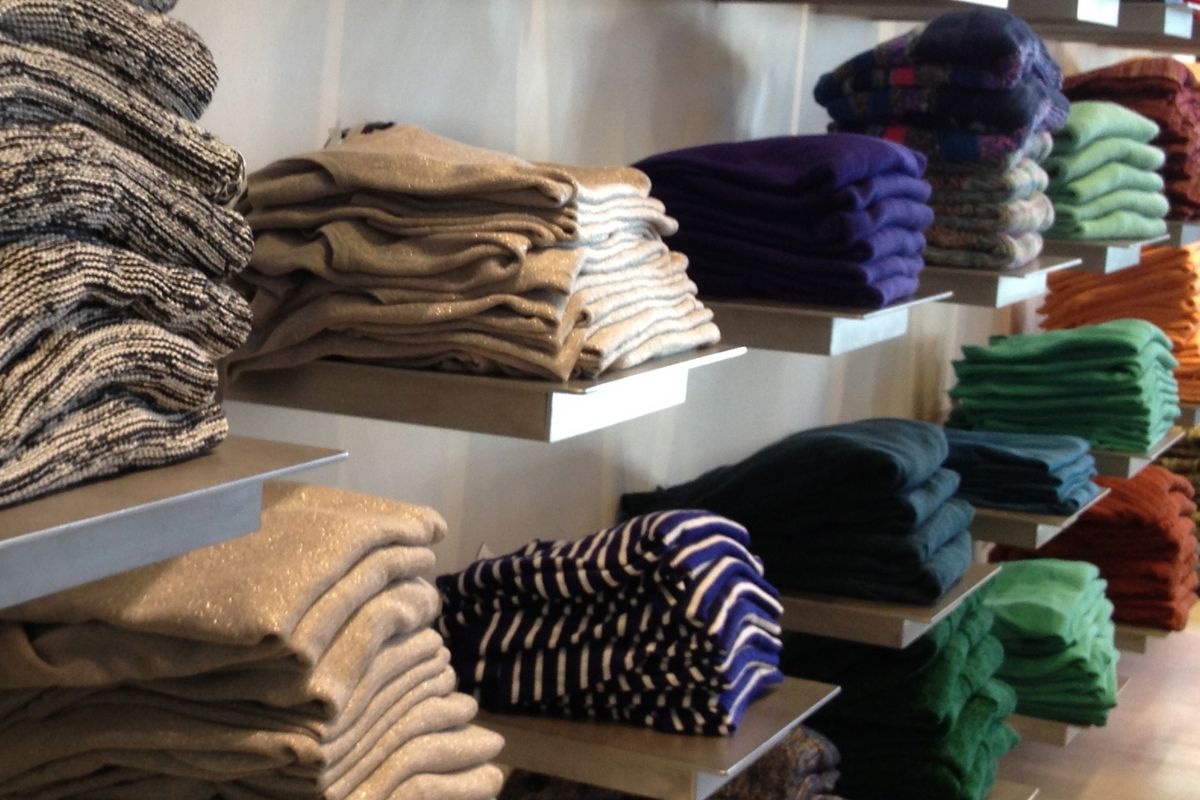 Knits at the Scoop NYC Warehouse Sale