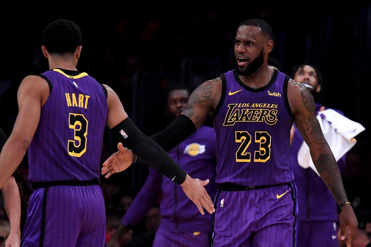 sneakers for cheap 438b6 18dc7 Lakers News: Josh Hart says LeBron James is the greatest ...
