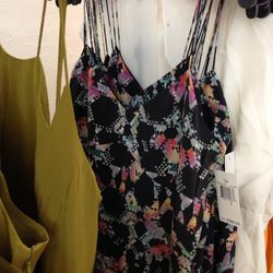 Slinky little tops like this are a must.