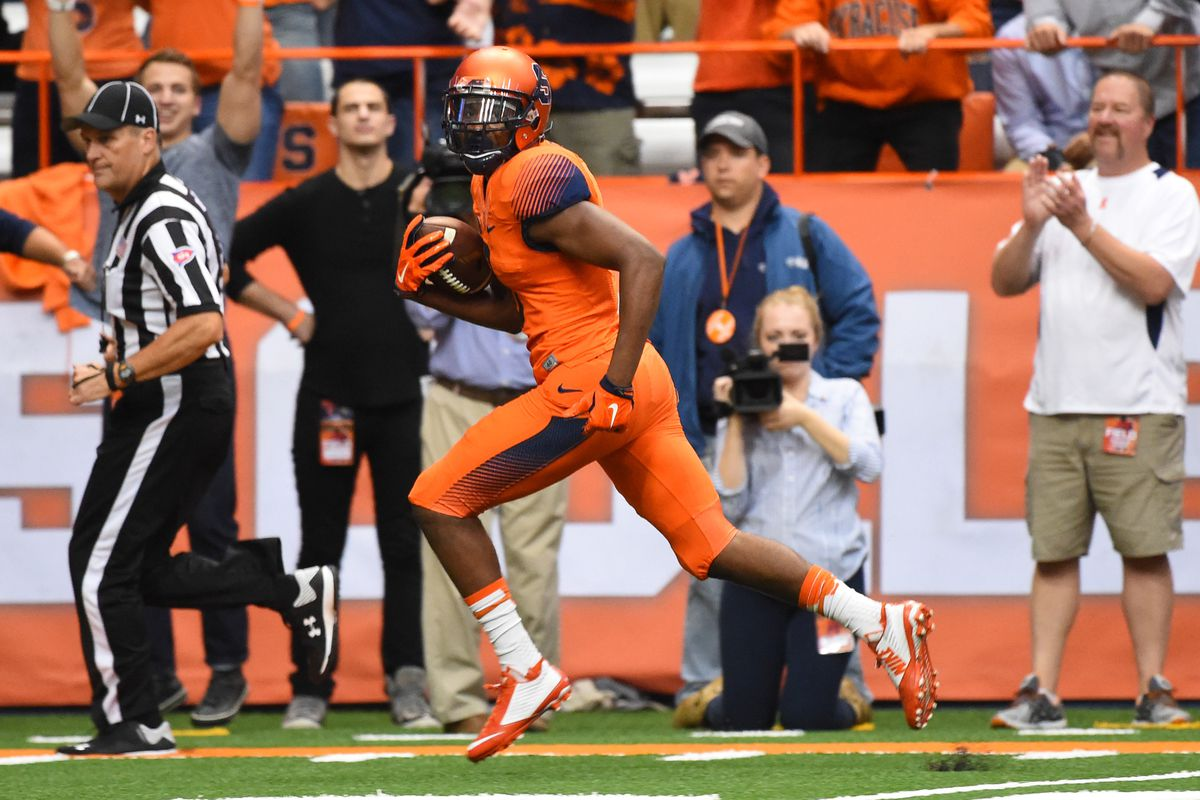 2d867408eaed Syracuse Football  A Tale of Two Offenses - Troy Nunes Is An ...