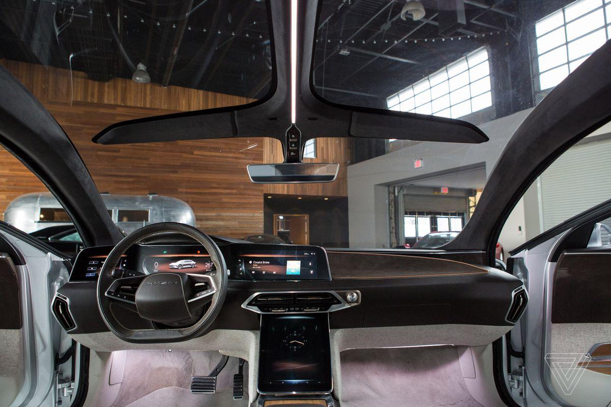 Lucid Motors' sleek Tesla-killer redefines electric luxury ...