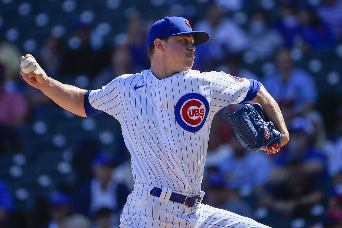 Cubs starter Keegan Thompson allowed one run and three hits in three innings Sunday against the Cardinals.