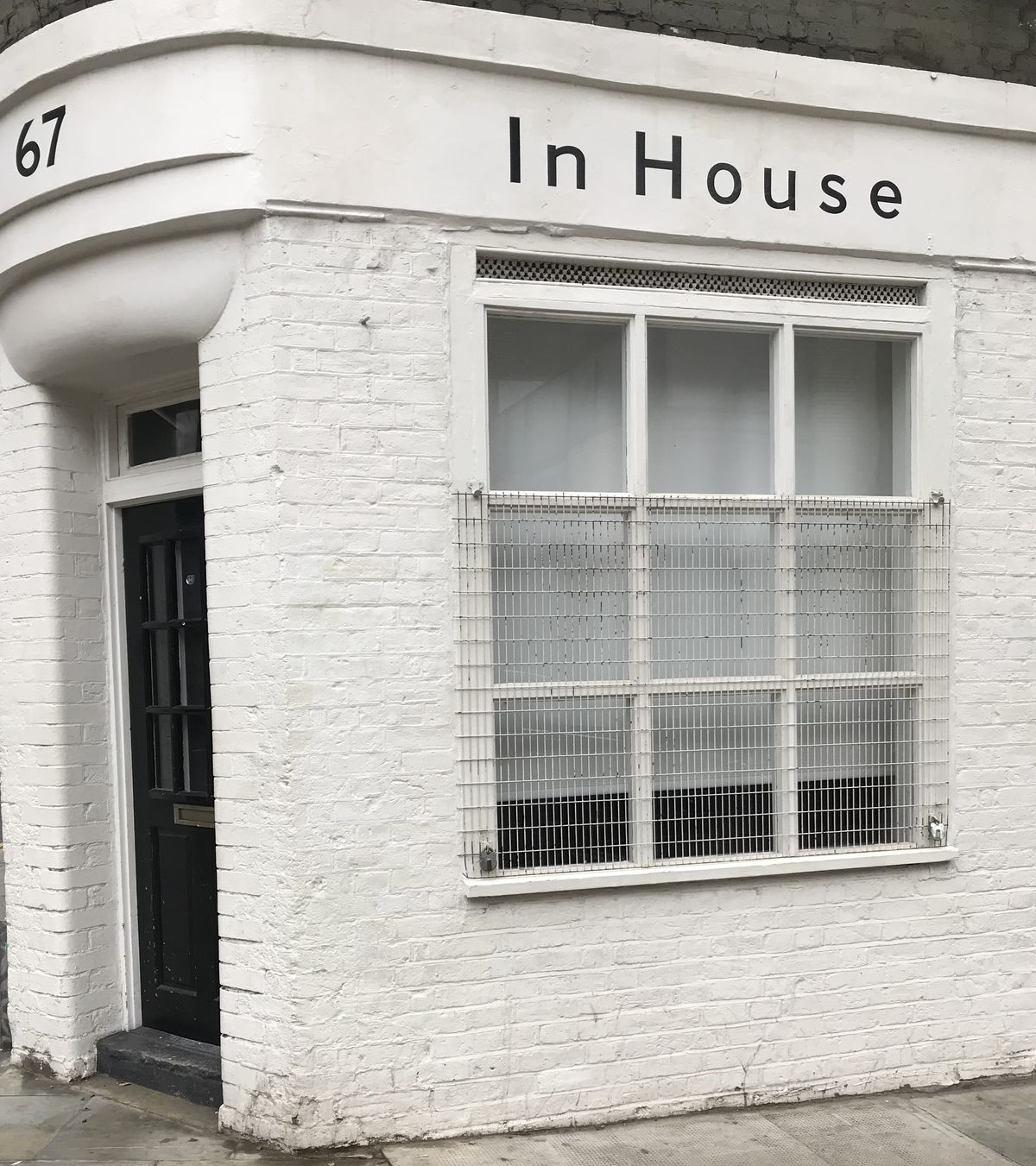 67 Redchurch Street, the site of Orford's Pump Street Bakery's London pop-up