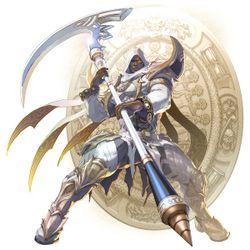<em>Soulcalibur 6</em> Zasalamel artwork