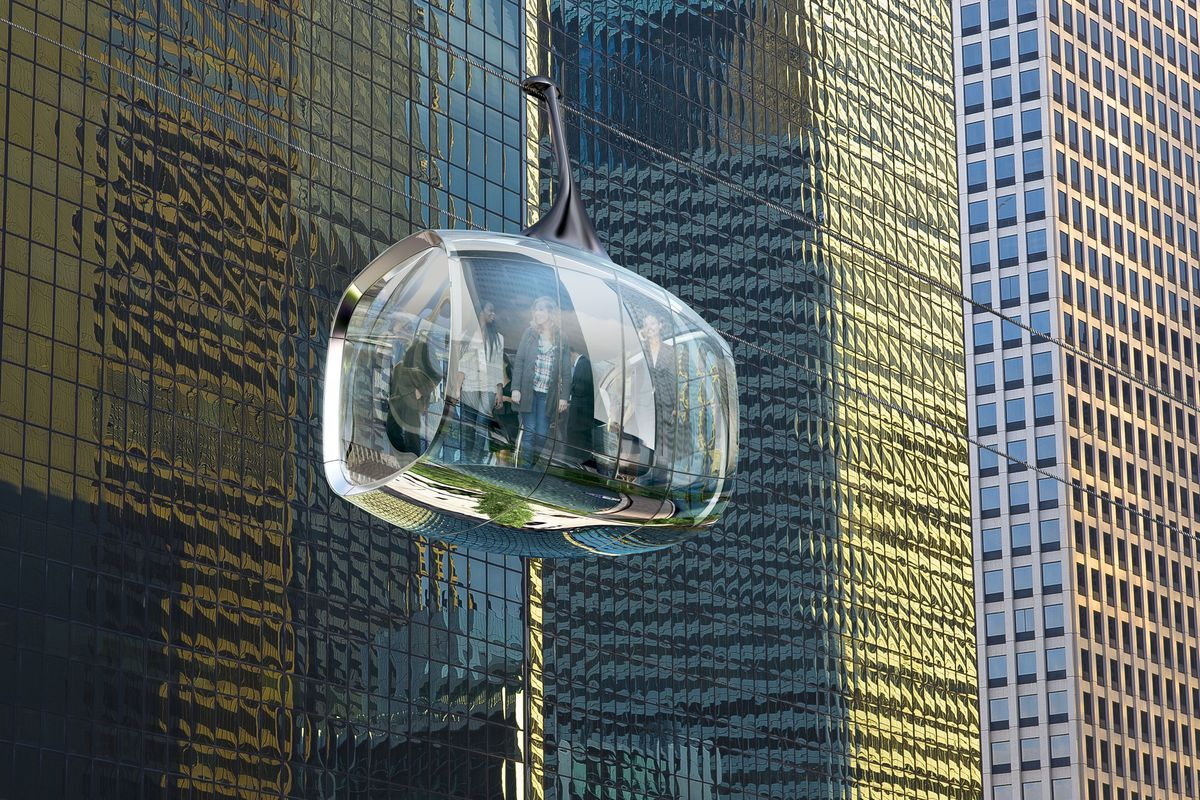 Aerial Gondolas Above The Chicago River Could Still Happen