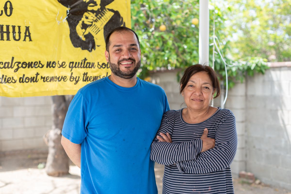 Ian Leyva and his mother Norma Contreras of Barbacoa Estilo Chihuahua.