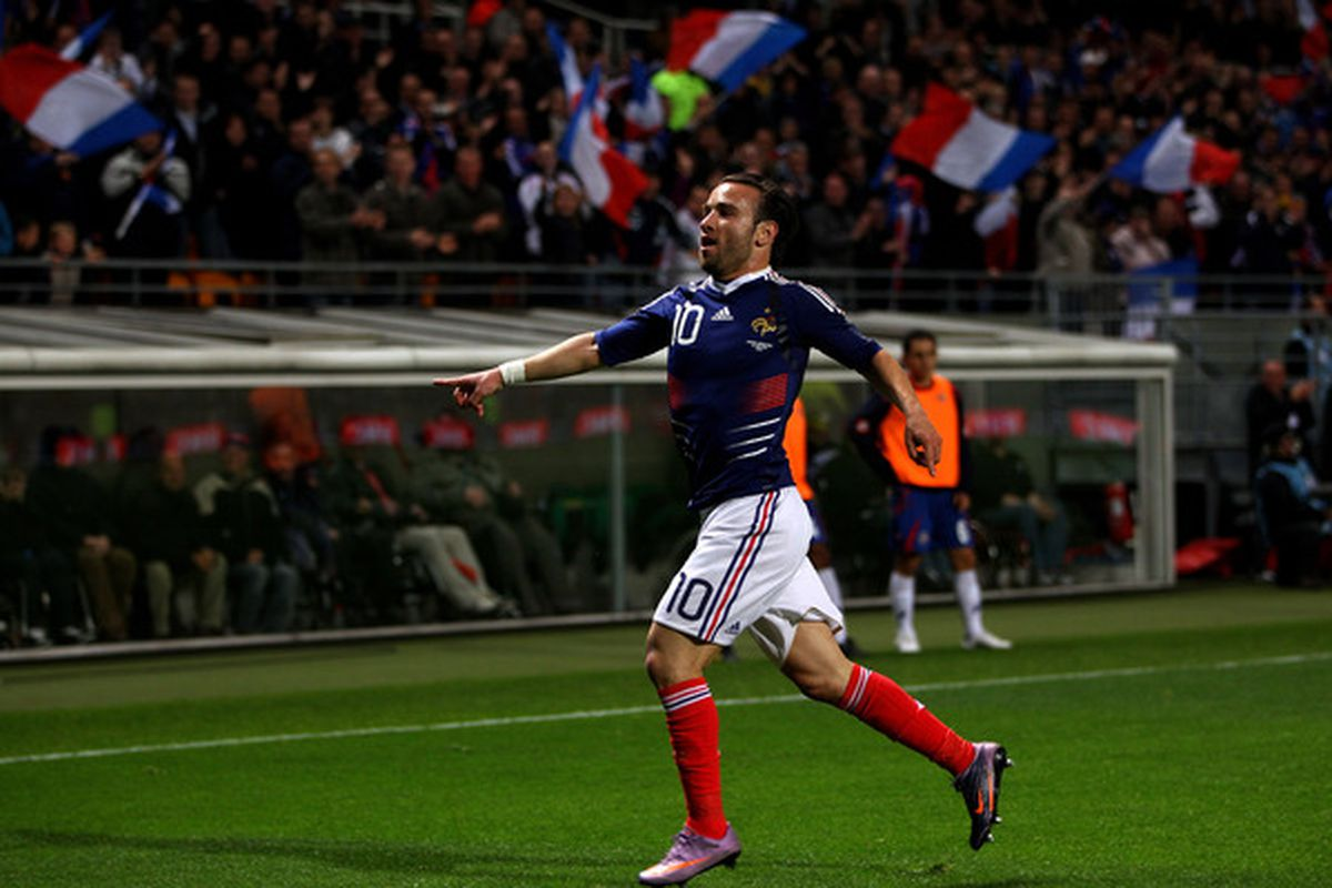 Could Mathieu Valbuena strut his way over to Newcastle this summer?