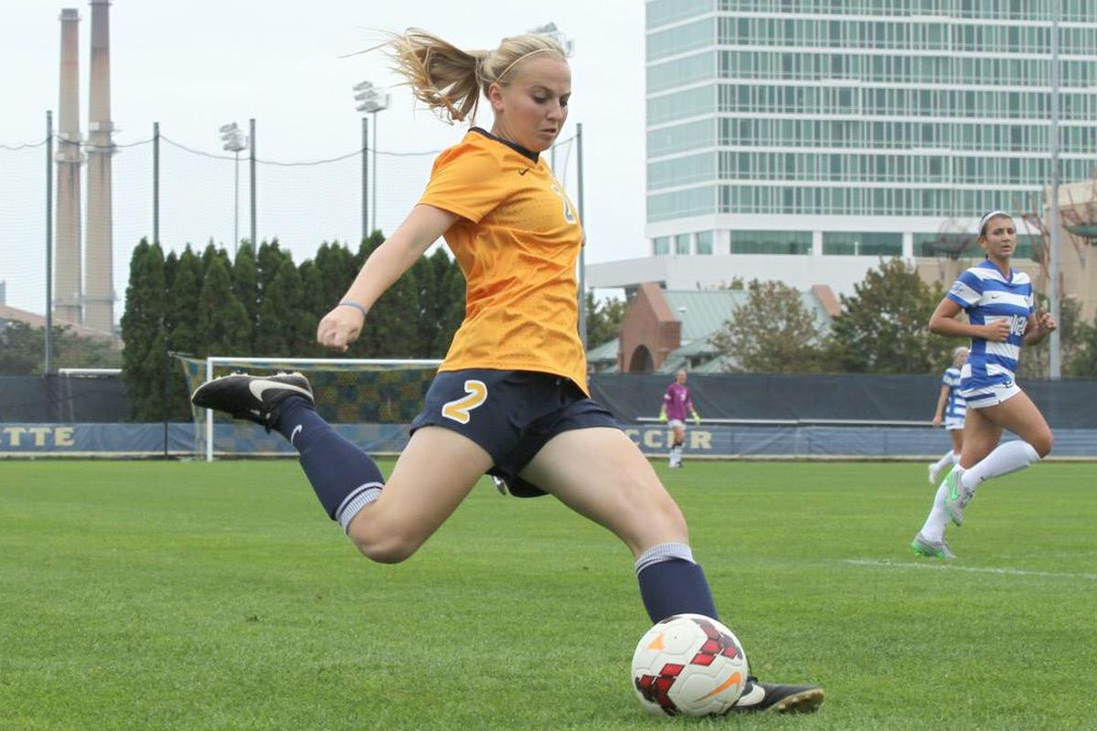 Emily Mouille probably isn't going to want to remember her first ever collegiate start.