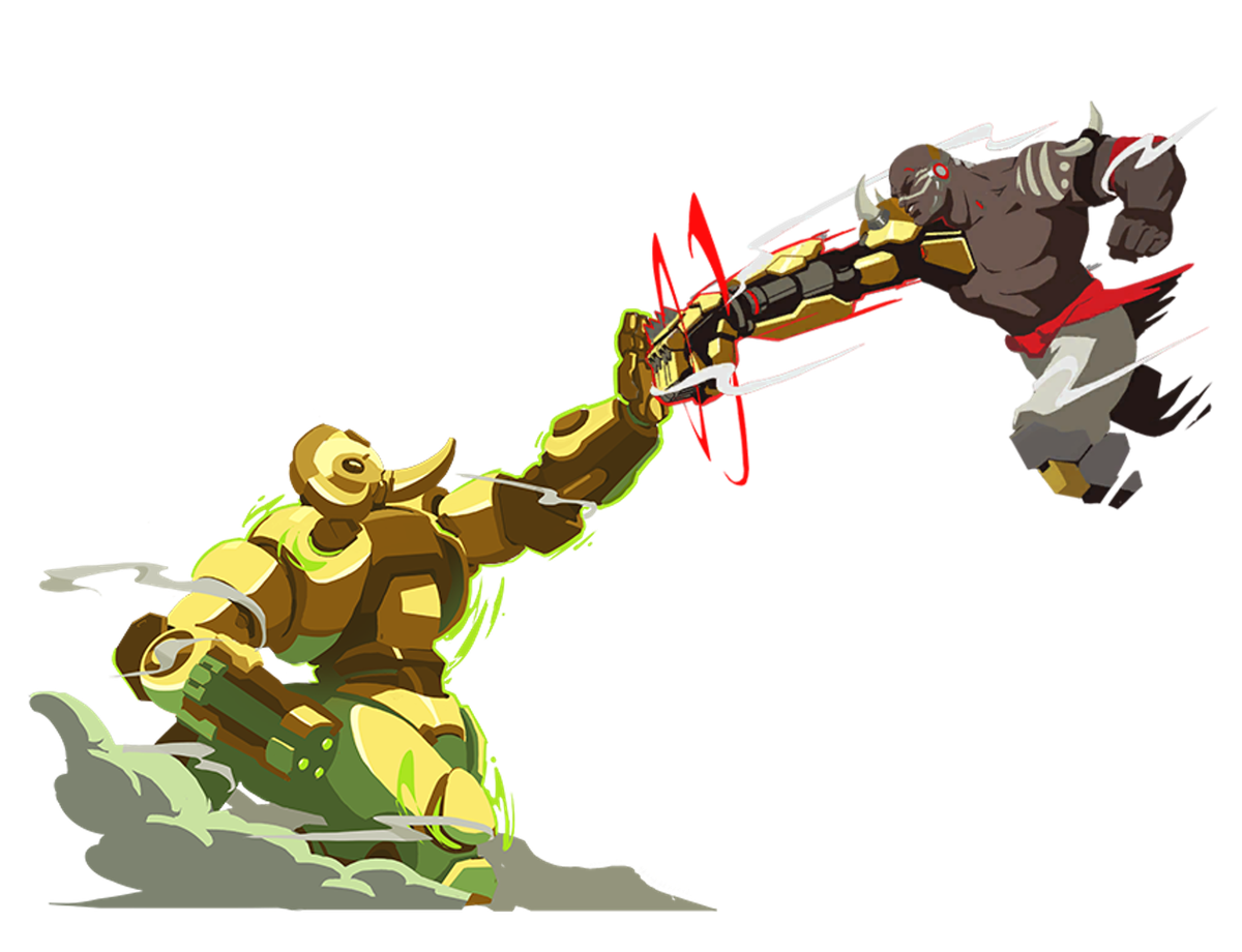 Maybe Doomfist should try ulting?