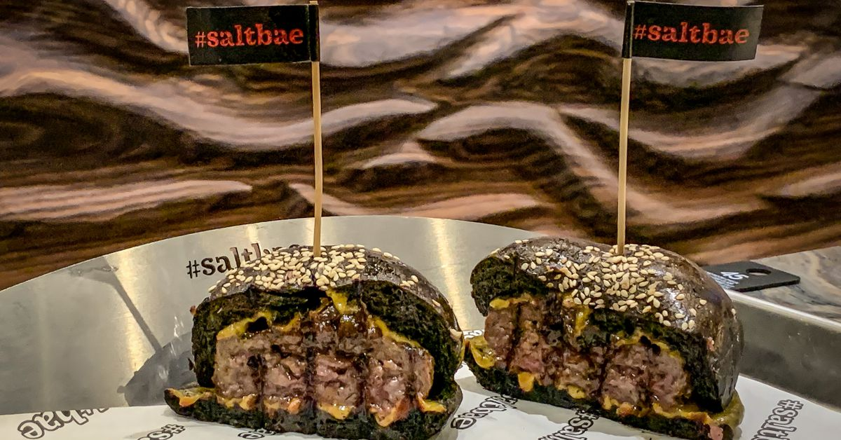 What If Black Tap Were Pricier and Tasted Worse? Meet Salt Bae's New Burger Spot