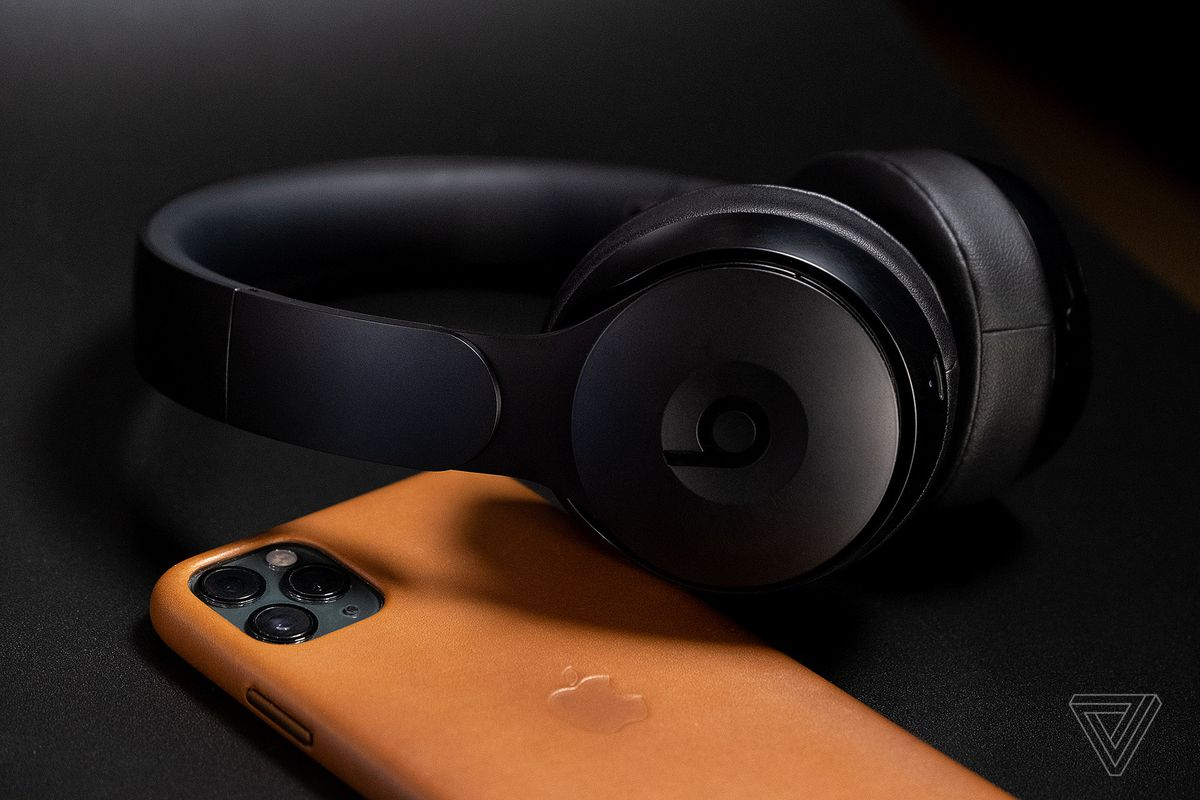 Beats Announces Solo Pro On Ear Headphones With Noise Cancellation The Verge