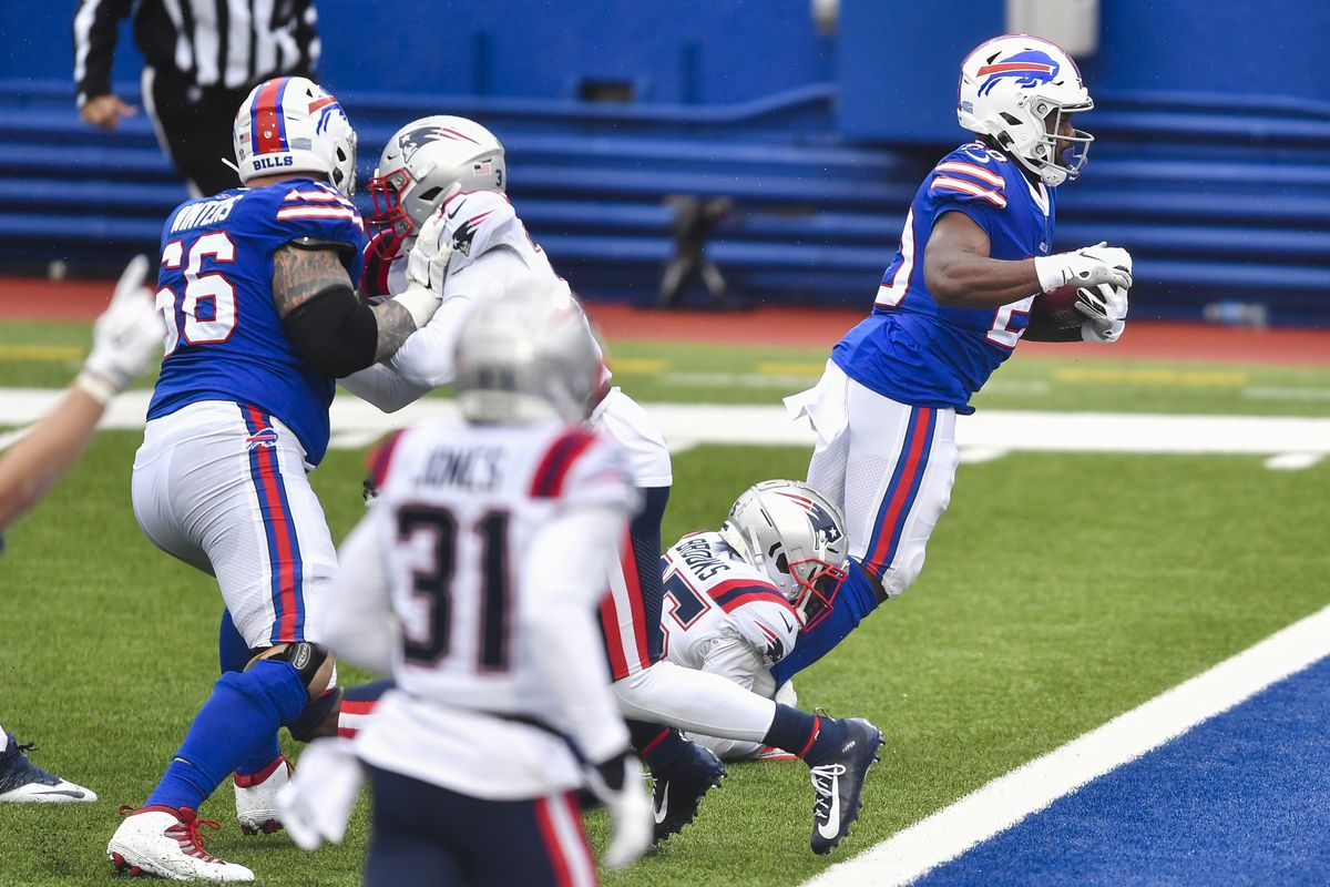 Utah Football Zack Moss Has Career Day First Multi Touchdown Game As A Pro In Buffalo Bills Win Deseret News