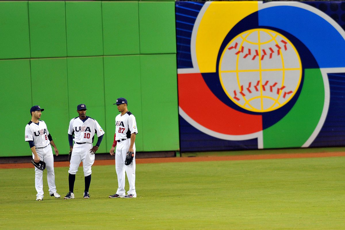 2013 World Baseball Classic at Marlins Park. The Fish have put in a bid to host games in 2017.