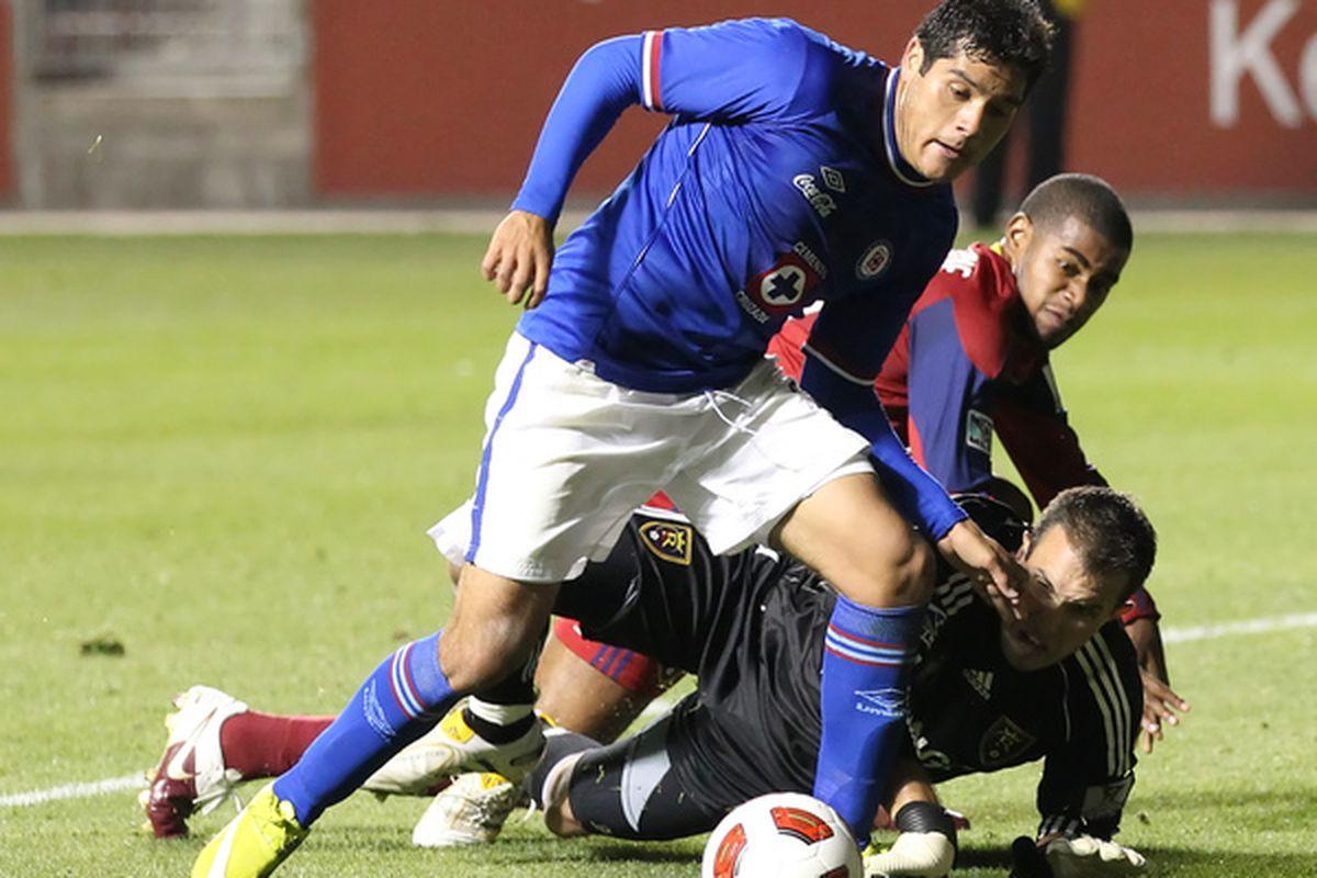 SANDY UT - SEPTEMBER 19: McKenzie (back) will hopefully bring some depth to Chivas' defense (Photo by George Frey/Getty Images)