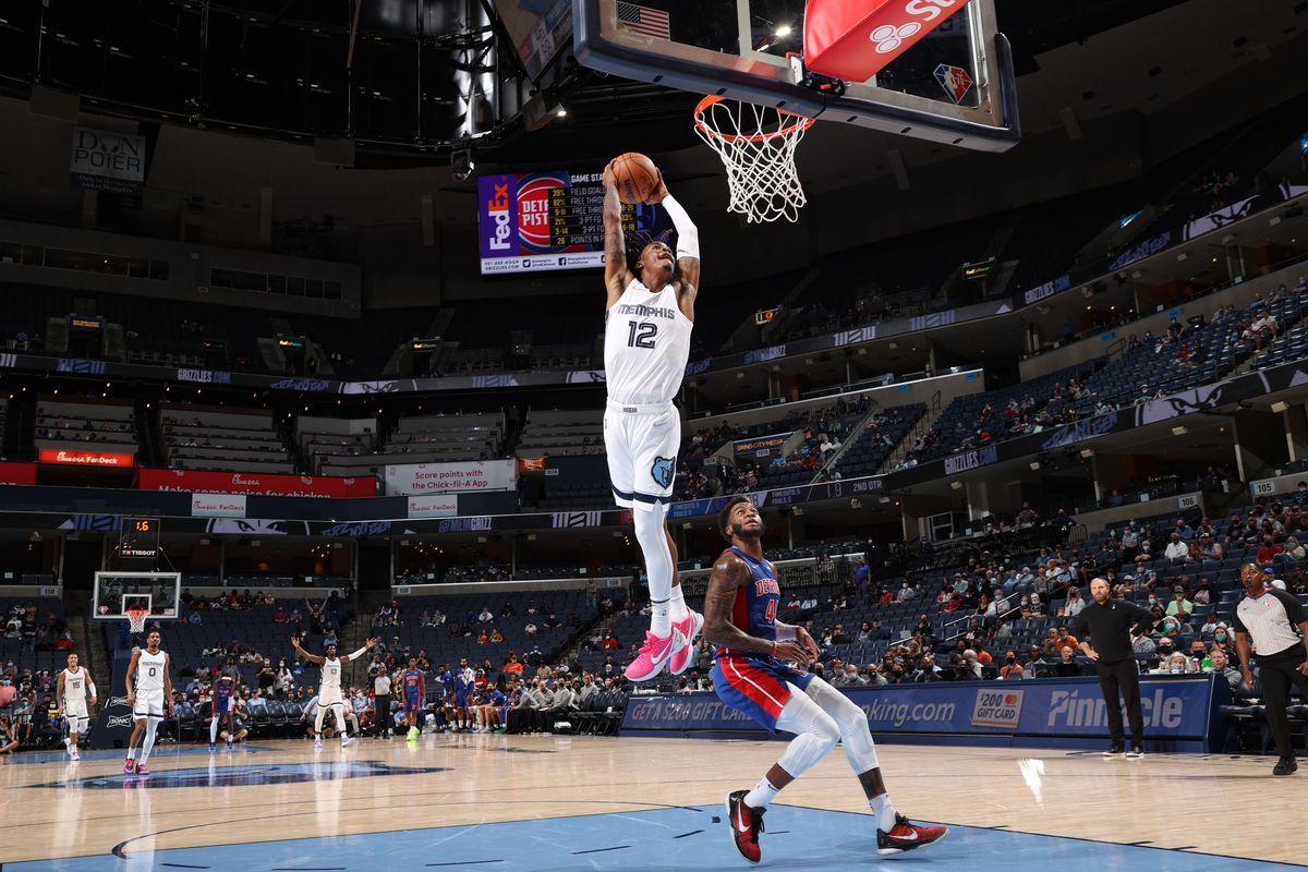 Detroit Pistons v Memphis Grizzlies