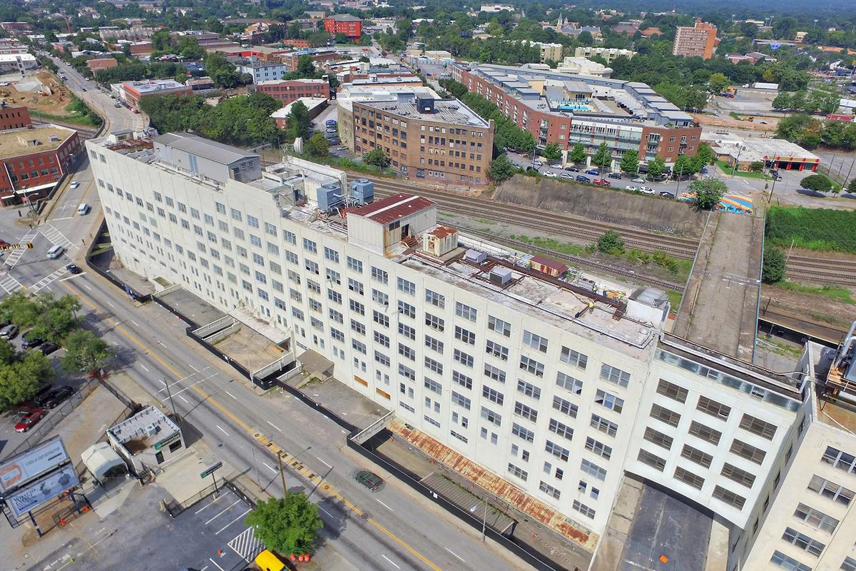 a picture of the former norfolk southern building