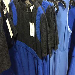 Blue dress, $95 (was $340)