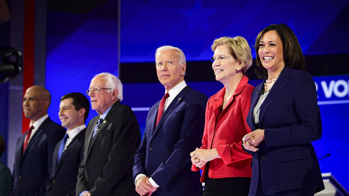 I Hope Democrats Get It Together Before >> Democratic Debate Winners And Losers September 2019 Vox