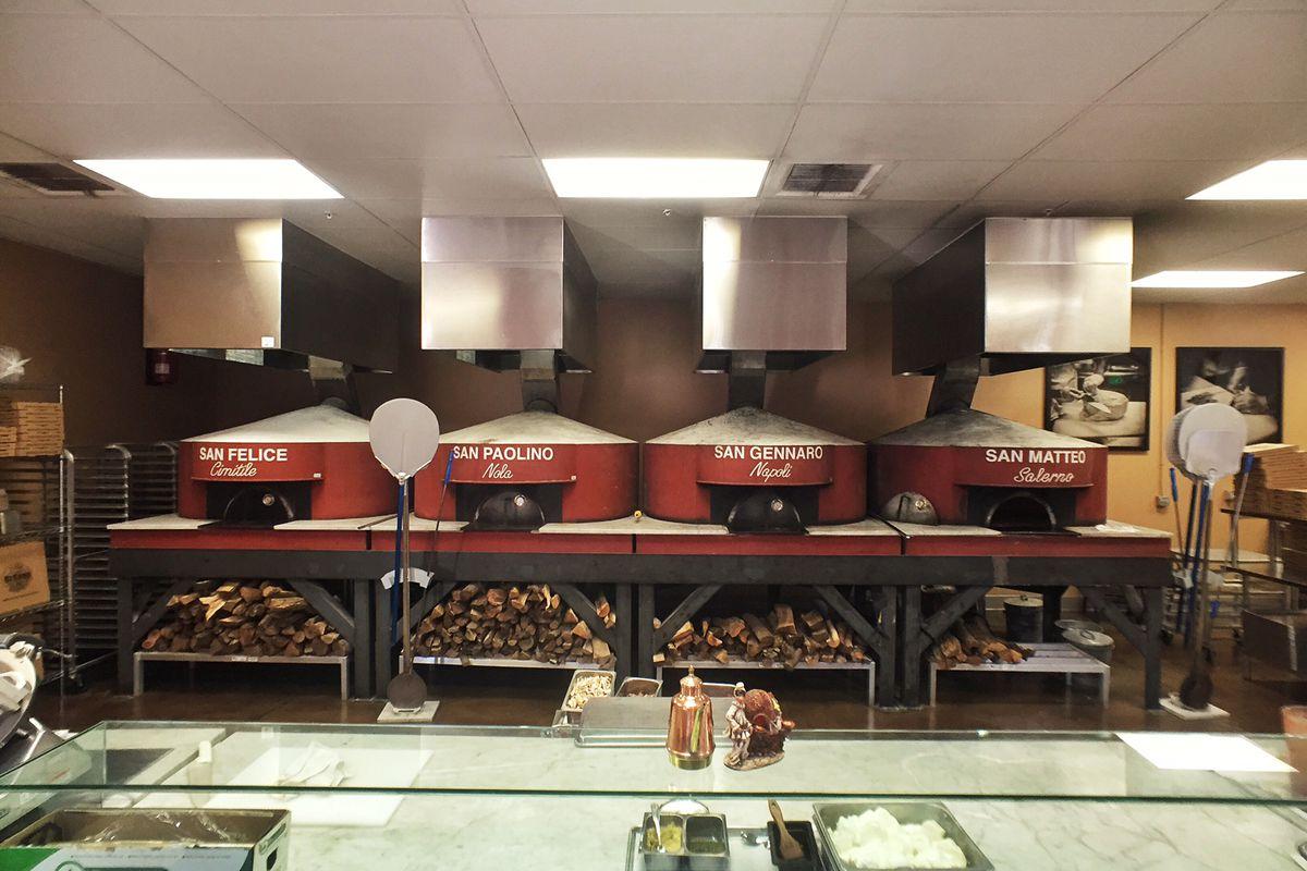The ovens at DeSano