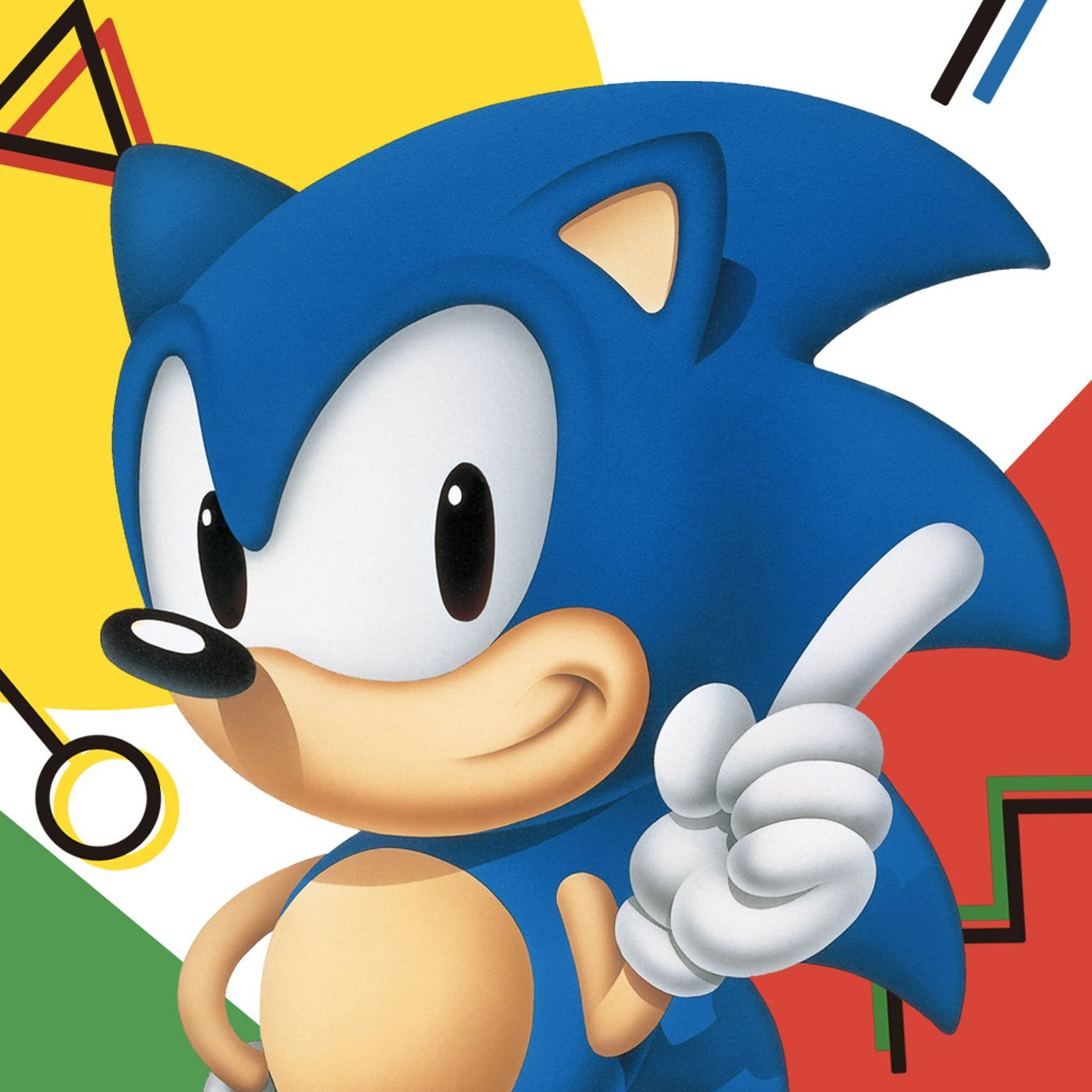 The Origins Of Sonic The Hedgehog Polygon