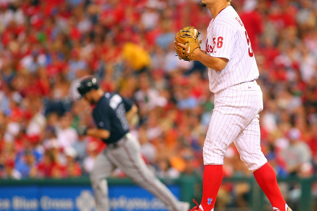 Brian McCann, Killer of Phillies, Destroyer of Worlds. (Photo by Rich Schultz/Getty Images)