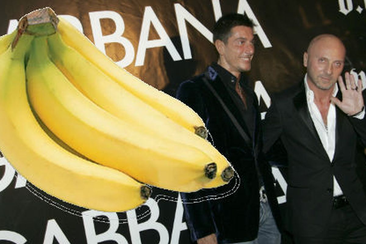 Domenico Dolce and Stefano Gabbana are not laughing. Image via Getty
