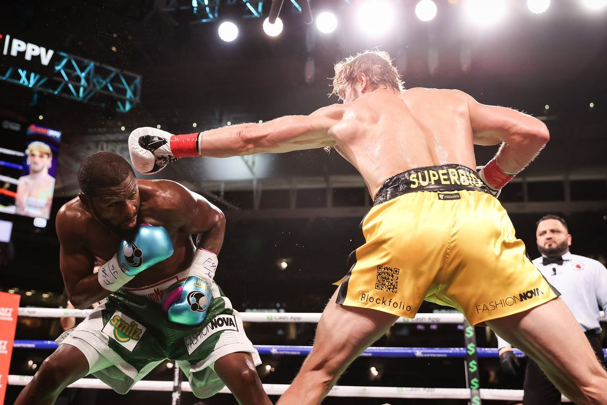 Results And Highlights Mayweather And Logan Paul Complete Exhibition Bad Left Hook