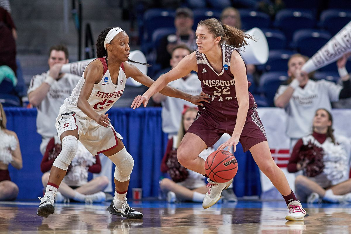 NCAA BASKETBALL: MAR 30 Div I Women's Championship - Third Round - Missouri State v Stanford Cardinal