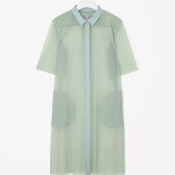 """Translucent shirt dress, <a href=""""http://www.cosstores.com/us/Women/Sale/Translucent_shirt_dress/16265326-15512807.1#c-15133331"""">$80</a>"""